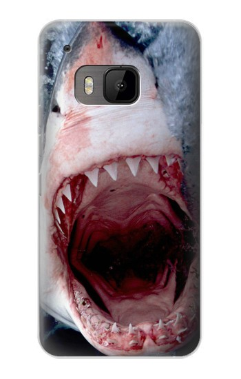 Printed Jaws Shark Mouth HTC One M9 Case