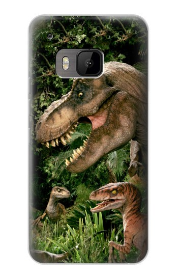 Printed Trex Raptor Dinosaur HTC One M9 Case
