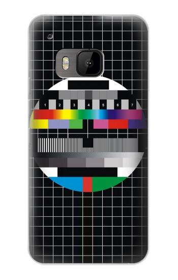 Printed No Signal Television HTC One M9 Case