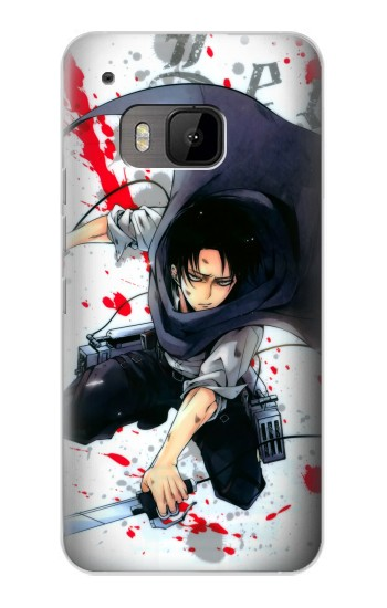 Printed Attack on Titan Rivaille Levi HTC One M9 Case