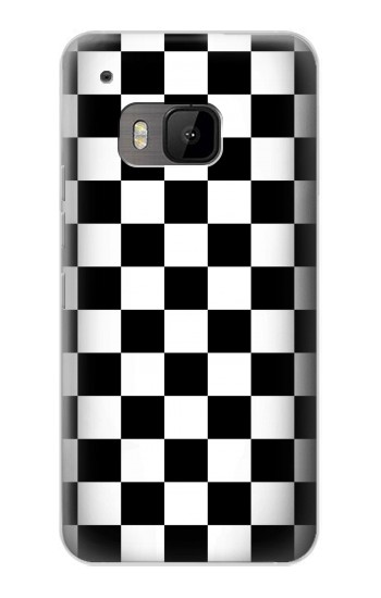 Printed Checkerboard Chess Board HTC One M9 Case