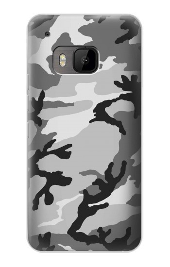 Printed Snow Camo Camouflage Graphic Printed HTC One M9 Case