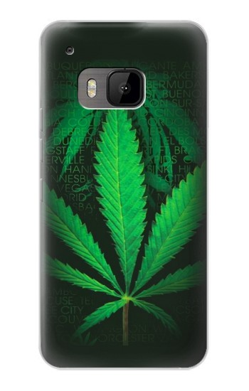 Printed Marijuana Plant HTC One M9 Case