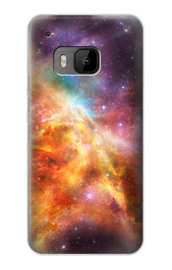 Printed Nebula Rainbow Space HTC One M9 Case