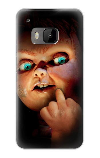 Printed Chucky Middle Finger HTC One M9 Case