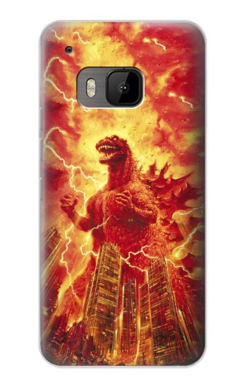 Printed Godzilla The Legend Is Reborn HTC One M9 Case