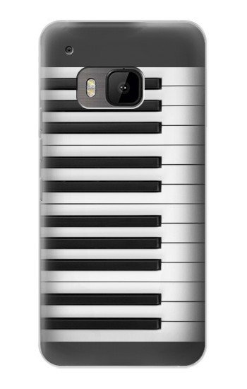 Printed One Octave Piano HTC One M9 Case