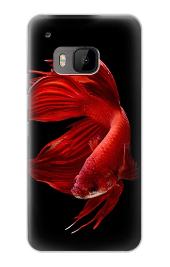 Printed Red Siamese Fighting Fish HTC One M9 Case