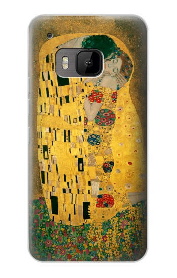 Printed Gustav Klimt The Kiss HTC One M9 Case