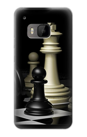 Printed Chess King HTC One M9 Case