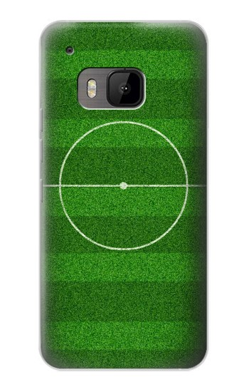 Printed Football Soccer Field HTC One M9 Case