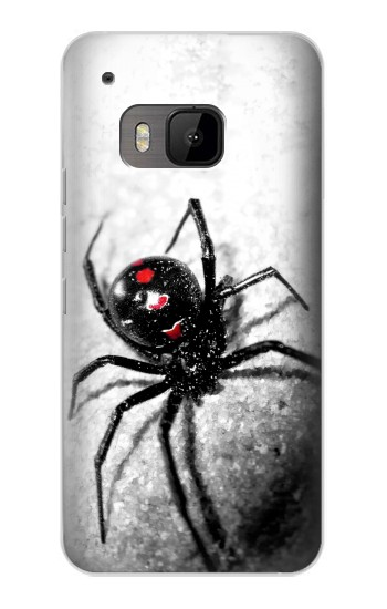 Printed Black Widow Spider HTC One M9 Case