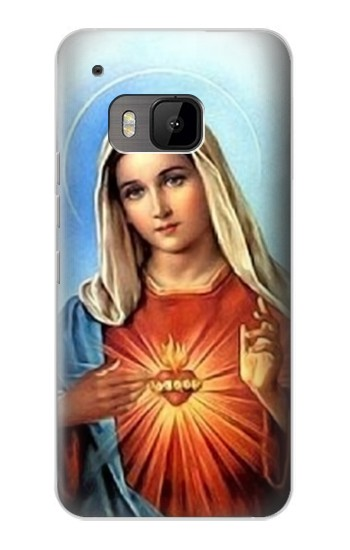 Printed The Virgin Mary Santa Maria HTC One M9 Case
