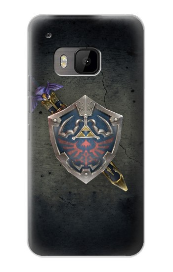 Printed Legend of Zelda Shield HTC One M9 Case