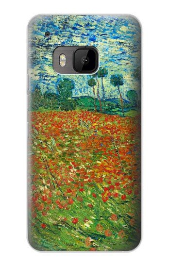 Printed Field Of Poppies Vincent Van Gogh HTC One M9 Case