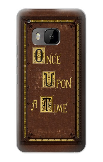 Printed Once Upon a Time Book Cover HTC One M9 Case