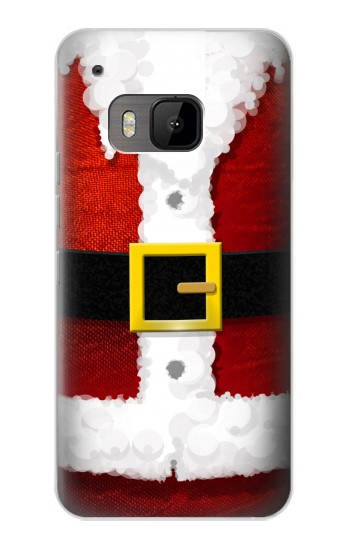 Printed Christmas Santa Red Suit HTC One M9 Case
