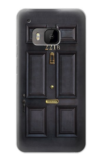 Printed Sherlock Holmes Black Door 221B HTC One M9 Case