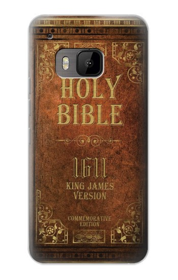 Printed Holy Bible 1611 King James Version HTC One M9 Case