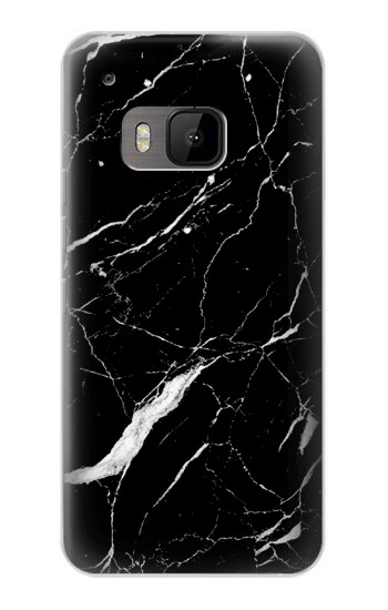 Printed Black Marble Graphic Printed HTC One M9 Case
