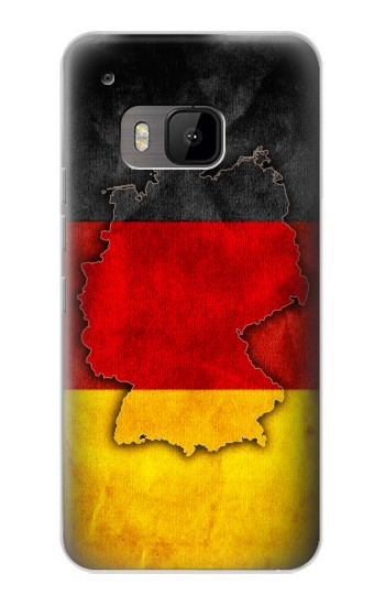 Printed Germany Flag Map HTC One M9 Case
