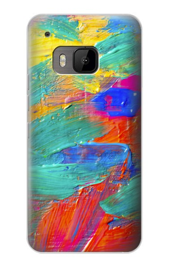 Printed Brush Stroke Painting HTC One M9 Case