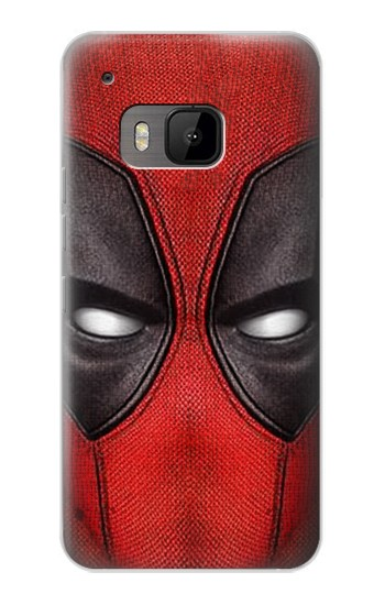 Printed Deadpool Mask HTC One M9 Case