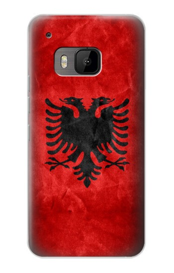 Printed Albania Red Flag HTC One M9 Case