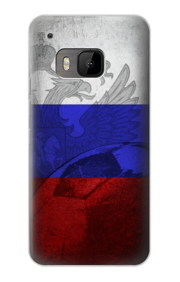 Printed Russia Football Flag HTC One M9 Case