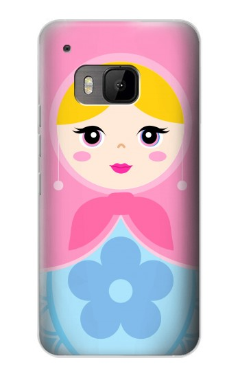 Printed Matryoshka Russia Doll HTC One M9 Case