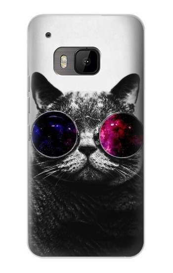 Printed Cool Cat Glasses HTC One M9 Case