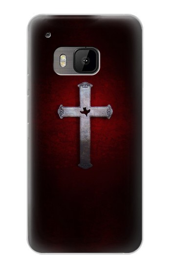 Printed Christian Cross HTC One M9 Case