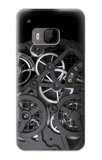 Printed Inside Watch Black HTC One M9 Case
