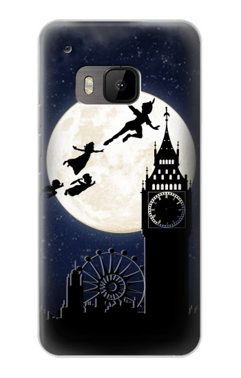 Printed Peter Pan Fly Fullmoon Night HTC One M9 Case