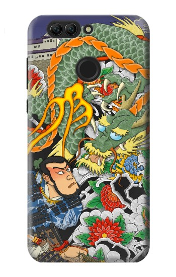 Printed Japan Tattoo Huawei nova 2 Case