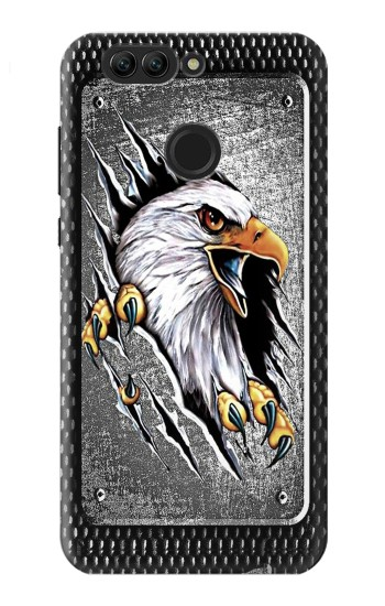Printed Eagle Metal Huawei nova 2 Case