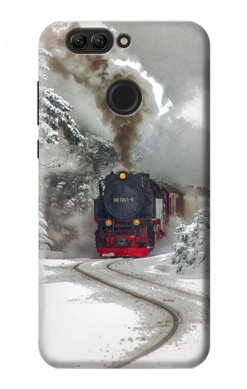 Printed Steam Train Huawei nova 2 Case