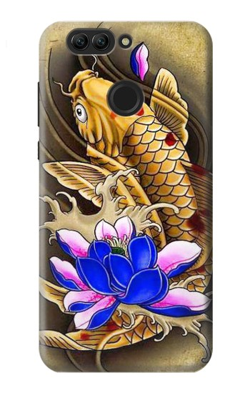 Printed Carp Koi Fish Japanese Tattoo Huawei nova 2 Case