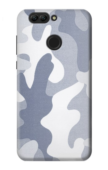 Printed Blue Camo Camouflage Graphic Printed Huawei nova 2 Case