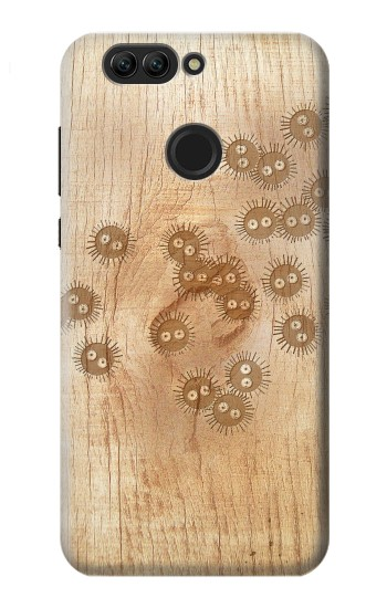 Printed Spirited Away Wood Art Graphic Printed Huawei nova 2 Case