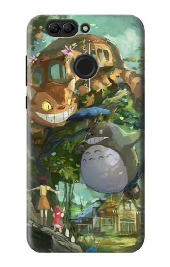 Printed My Neighbor Totoro Cat Bus Huawei nova 2 Case