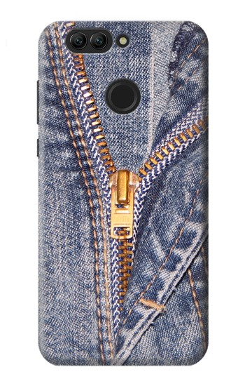 Printed Jeans Zip Graphic Printed Huawei nova 2 Case
