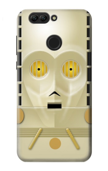 Printed C-3PO See-Threepio Head Star Wars Minimalist Huawei nova 2 Case
