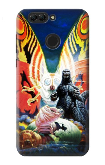 Printed Godzilla vs Mothra Huawei nova 2 Case