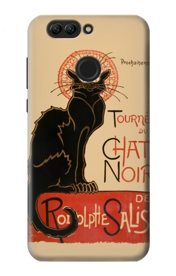 Printed Chat Noir The Black Cat Huawei nova 2 Case