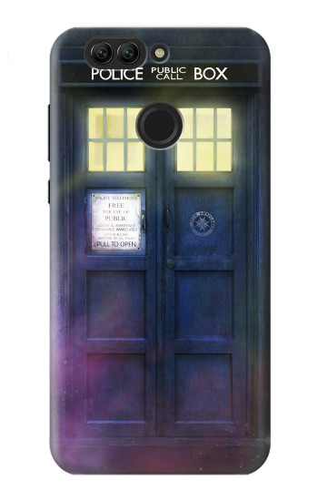 Printed Tardis Phone Box Huawei nova 2 Case