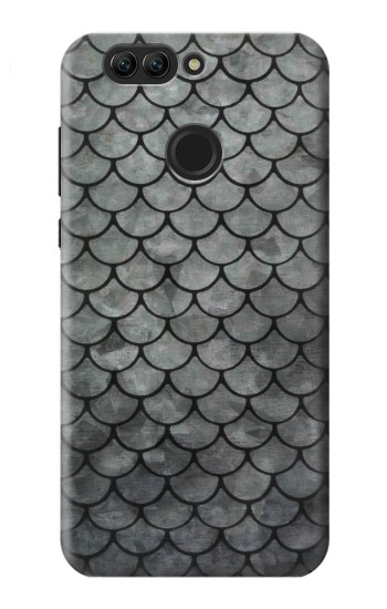 Printed Silver Fish Scale Huawei nova 2 Case