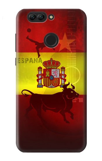 Printed Spain Football Flag Huawei nova 2 Case