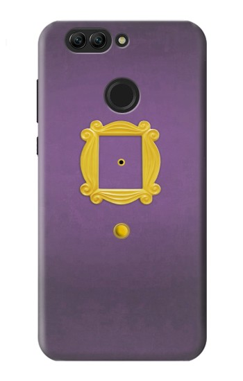 Printed Friends Purple Door Minimalist Huawei nova 2 Case