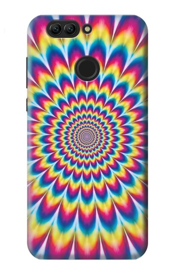 Printed Colorful Psychedelic Huawei nova 2 Case